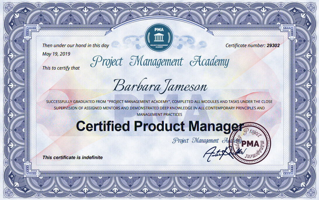 Сертификат и курс за Certified Product Manager